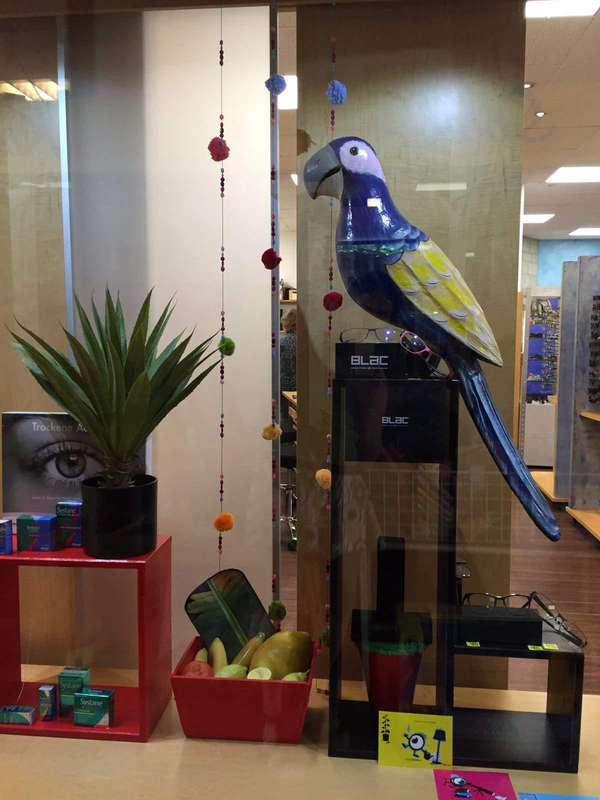 Opticus , Quickborn Thema Papagei