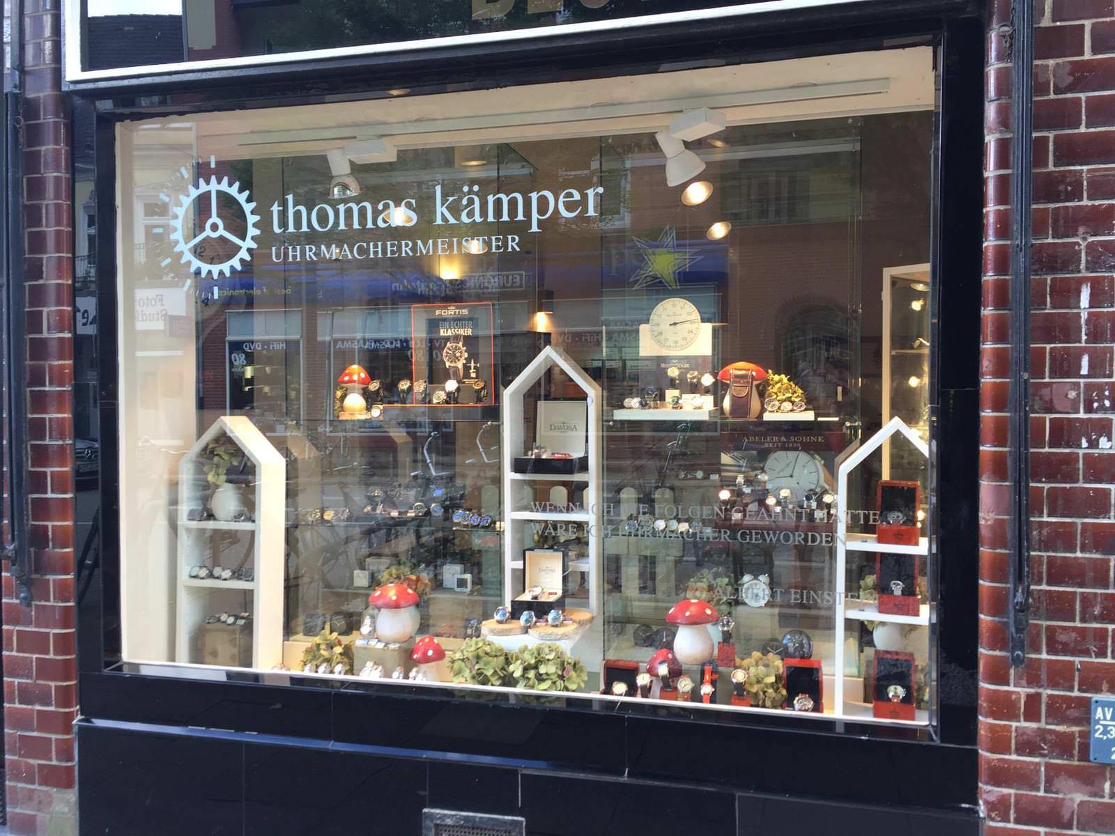 Thomas Kämper - Uhrmachermeister
