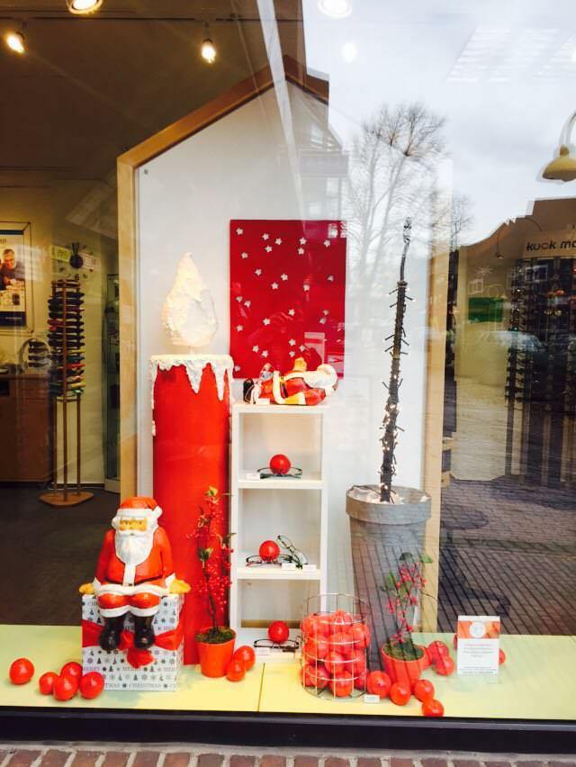 Weihnachtsscheufenster bei kuck mal in Kaltenkirchen