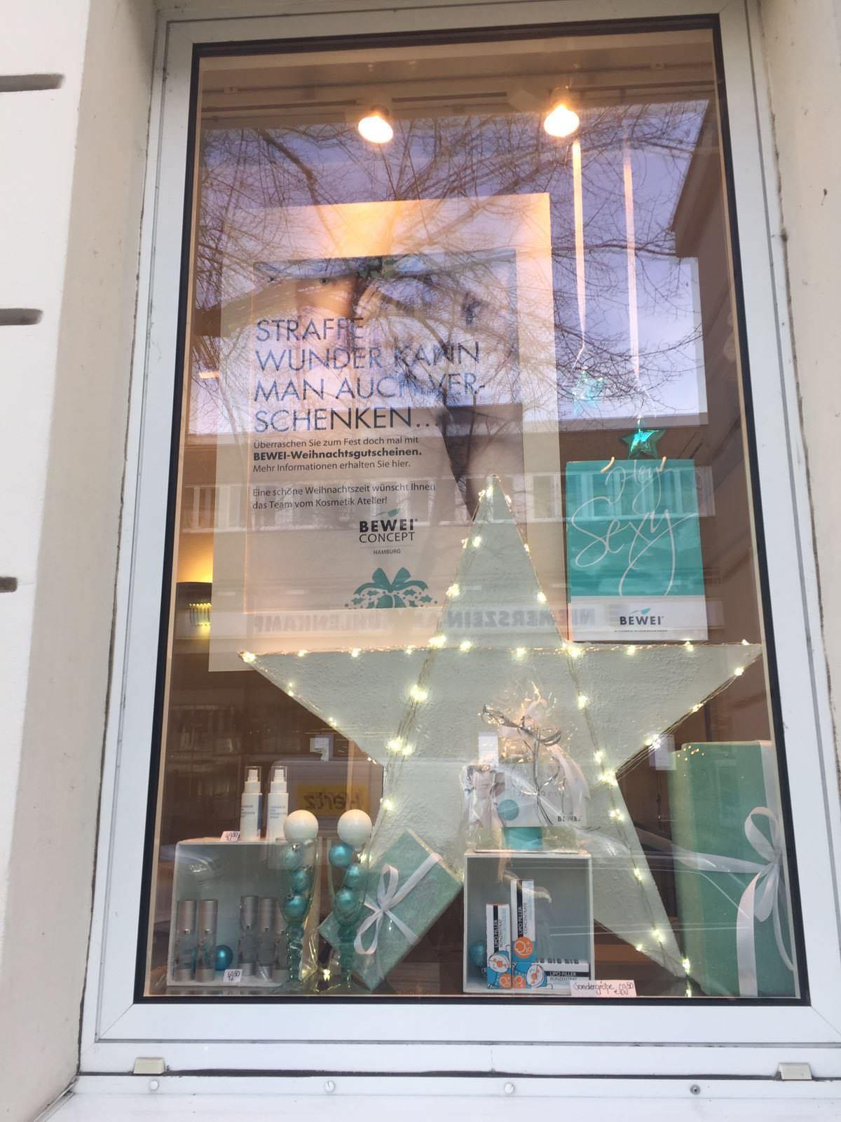 Kosmetik Atelier Bea von Schilgen, Weihnachtsdekoration 2016