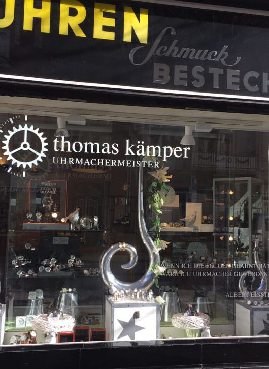 Uhrmachermeister thomas kämper