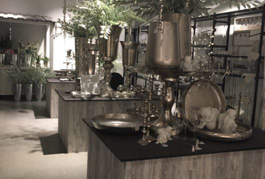 Boltze Showroom Dekoration, Thema White Romantik