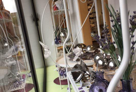 Lavendel mit Schmetterlingen