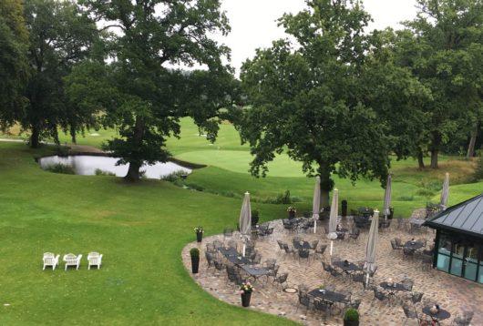 Hochzeitsdeko im Golf Club Gut Kaden