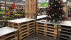 Weihnachten im Hagebaumarkt - Vorher