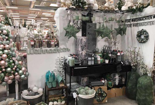 Weihnachtsmarkt im Hagebaumarkt, Bocholt - Boltze Deko